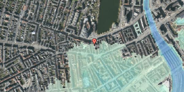 Stomflod og havvand på Bagerstræde 8, 4. , 1617 København V