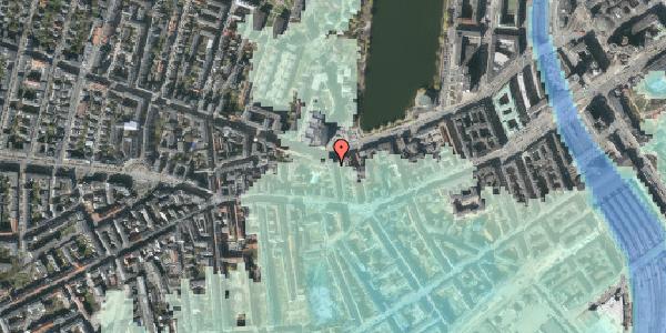 Stomflod og havvand på Bagerstræde 9, st. th, 1617 København V