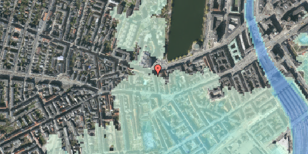 Stomflod og havvand på Bagerstræde 9, 2. , 1617 København V