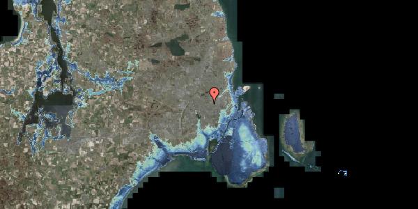 Stomflod og havvand på Bakkevej 4, 2400 København NV