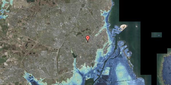 Stomflod og havvand på Bakkevej 14, 2400 København NV
