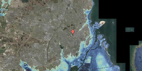 Stomflod og havvand på Bakkevej 43, 2400 København NV