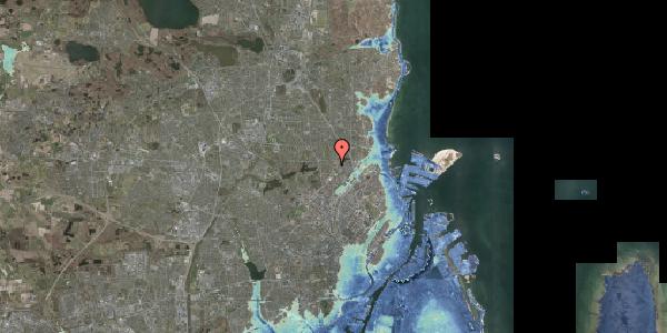 Stomflod og havvand på Banebrinken 71, 1. mf, 2400 København NV
