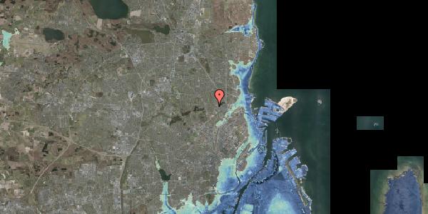 Stomflod og havvand på Banebrinken 83, 1. mf, 2400 København NV