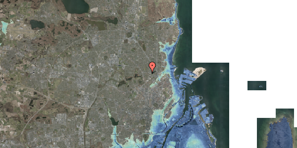 Stomflod og havvand på Banebrinken 87, 2. th, 2400 København NV
