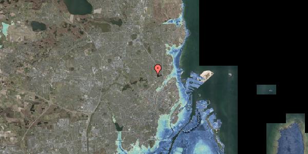 Stomflod og havvand på Banebrinken 93, 1. 22, 2400 København NV