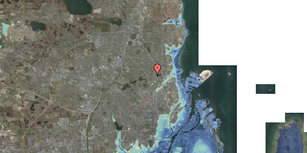 Stomflod og havvand på Banebrinken 97, 1. 53, 2400 København NV