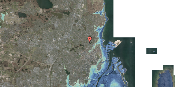 Stomflod og havvand på Banebrinken 99, st. 66, 2400 København NV