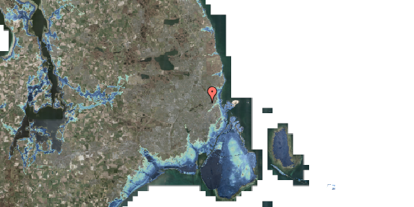 Stomflod og havvand på Banebrinken 99, st. 69, 2400 København NV