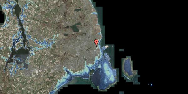 Stomflod og havvand på Banebrinken 101, 1. 88, 2400 København NV