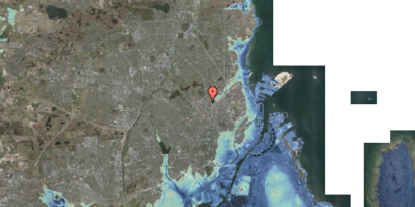 Stomflod og havvand på Bisiddervej 2, 4. mf, 2400 København NV