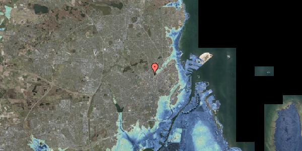 Stomflod og havvand på Bisiddervej 10, 1. mf, 2400 København NV