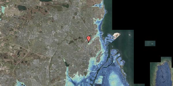 Stomflod og havvand på Bispebjerg Bakke 1, 6. 601, 2400 København NV