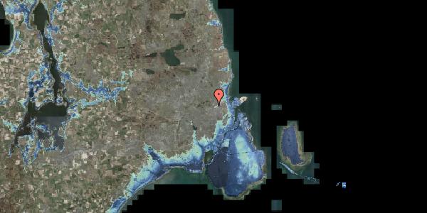Stomflod og havvand på Bispebjerg Bakke 1, 6. 603, 2400 København NV
