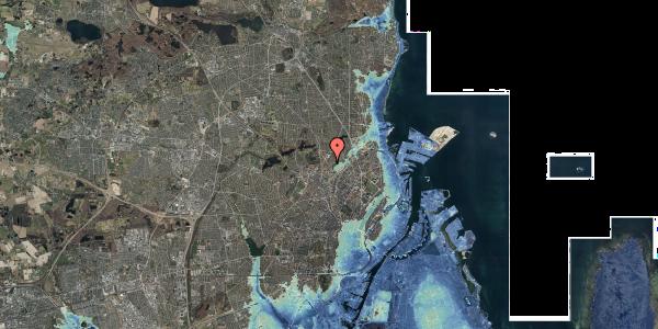 Stomflod og havvand på Bispebjerg Bakke 5, 6. 611, 2400 København NV