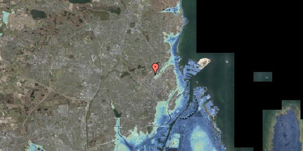 Stomflod og havvand på Bispebjerg Bakke 5, 6. 614, 2400 København NV