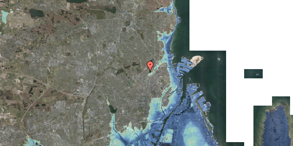 Stomflod og havvand på Bispebjerg Bakke 7, 5. 505, 2400 København NV