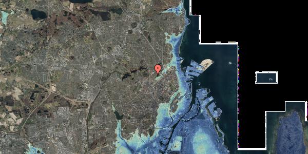 Stomflod og havvand på Bispebjerg Bakke 9, 2. 206, 2400 København NV