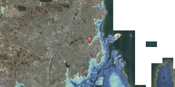 Stomflod og havvand på Bispebjerg Bakke 9, 5. 506, 2400 København NV