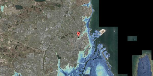 Stomflod og havvand på Bispebjerg Bakke 9, 5. 509, 2400 København NV