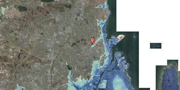 Stomflod og havvand på Bispebjerg Bakke 11, 6. 611, 2400 København NV