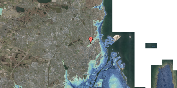 Stomflod og havvand på Bispebjerg Bakke 18H, st. th, 2400 København NV