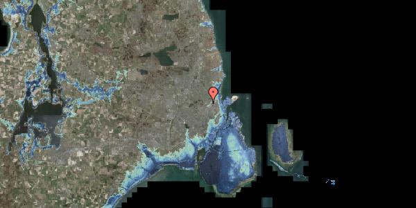 Stomflod og havvand på Bispebjerg Bakke 18M, 1. tv, 2400 København NV