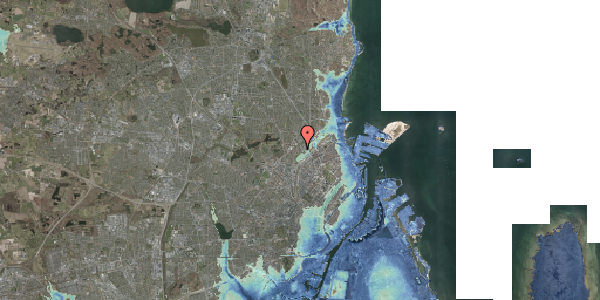 Stomflod og havvand på Bispebjerg Bakke 22B, st. tv, 2400 København NV