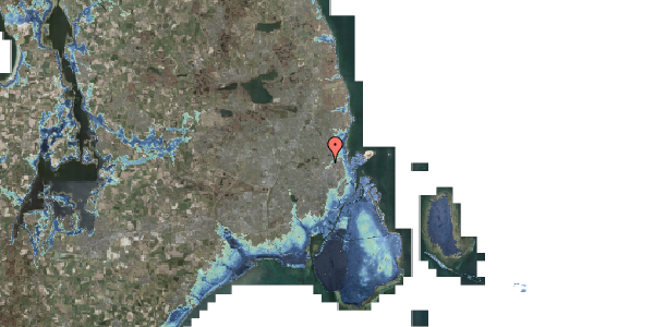 Stomflod og havvand på Bispebjerg Bakke 22B, 2. th, 2400 København NV
