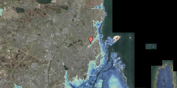 Stomflod og havvand på Bispebjerg Bakke 22B, 2. tv, 2400 København NV