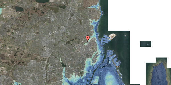 Stomflod og havvand på Bispebjerg Bakke 26B, 1. th, 2400 København NV