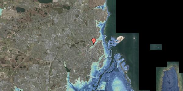 Stomflod og havvand på Bispebjerg Bakke 26B, 1. tv, 2400 København NV