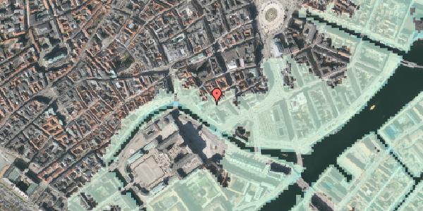 Stomflod og havvand på Boldhusgade 2, st. , 1062 København K