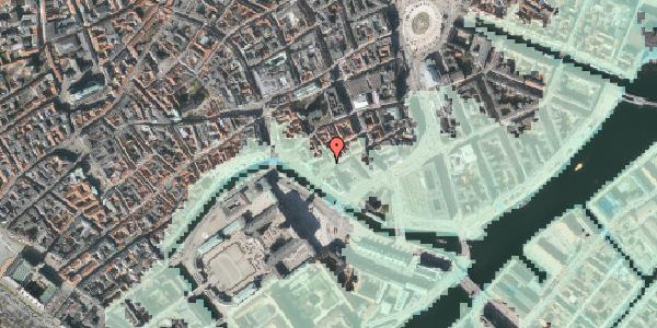 Stomflod og havvand på Boldhusgade 2, 1. , 1062 København K