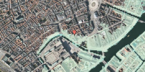 Stomflod og havvand på Boldhusgade 4, kl. , 1062 København K