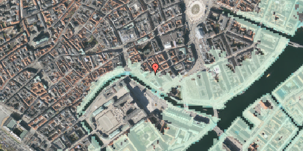 Stomflod og havvand på Boldhusgade 4, 3. , 1062 København K
