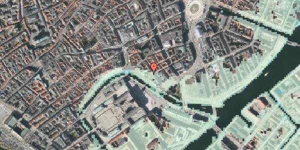Stomflod og havvand på Boldhusgade 6, 4. , 1062 København K