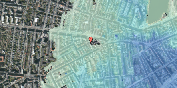 Stomflod og havvand på Boyesgade 1, 3. tv, 1622 København V