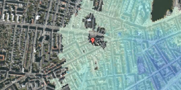 Stomflod og havvand på Boyesgade 5A, 3. mf, 1622 København V