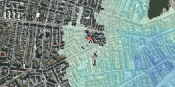 Stomflod og havvand på Boyesgade 5B, 1. tv, 1622 København V