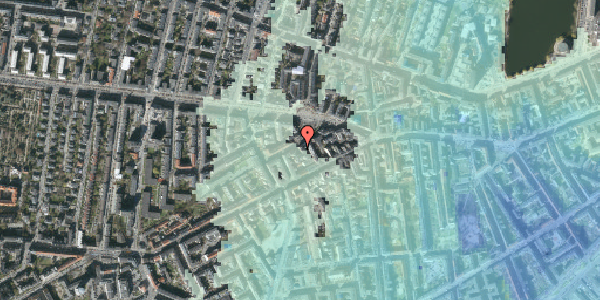 Stomflod og havvand på Boyesgade 5, 2. th, 1622 København V
