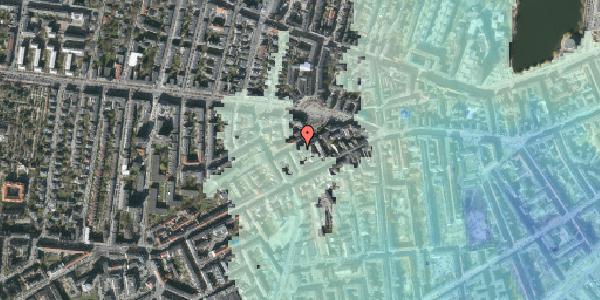 Stomflod og havvand på Boyesgade 9, 3. tv, 1622 København V