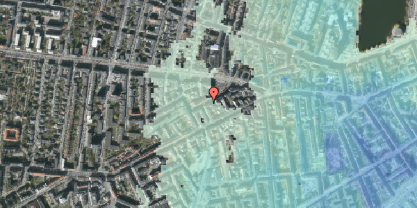 Stomflod og havvand på Boyesgade 11, 1. tv, 1622 København V
