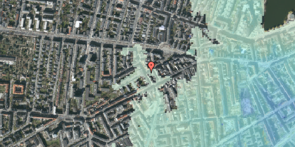 Stomflod og havvand på Boyesgade 17, 1. th, 1622 København V