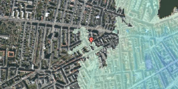 Stomflod og havvand på Boyesgade 17, 4. tv, 1622 København V