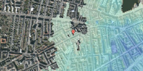 Stomflod og havvand på Brorsonsgade 2, kl. tv, 1624 København V