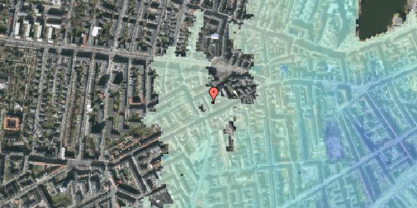 Stomflod og havvand på Brorsonsgade 4, kl. , 1624 København V