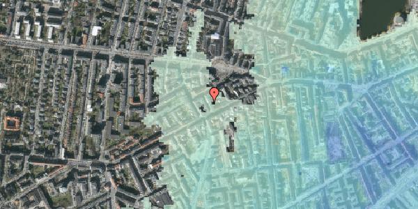 Stomflod og havvand på Brorsonsgade 4, 1. th, 1624 København V