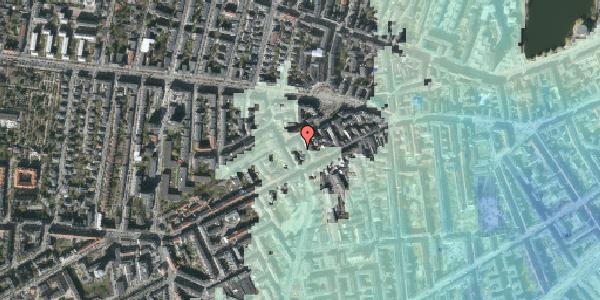 Stomflod og havvand på Brorsonsgade 5, 2. , 1624 København V
