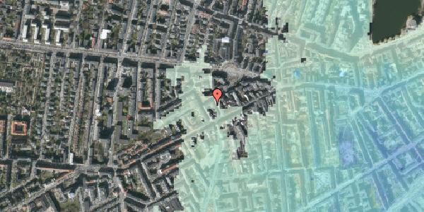 Stomflod og havvand på Brorsonsgade 7, 2. th, 1624 København V
